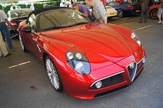 Alfa Romeo 8C Competizione (Tispower) Tags: show festival speed moving alfa romeo motor goodwood 2012 8c competizione