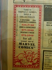 Triple JJJ Comics 1988 (frankasu03) Tags: las vegas shop vintage book comic retro 80s hobbies triple 90s jjj businesses