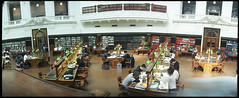 The ghost of studies past (heritagefutures) Tags: street camera panorama reading design la state interior library room australia melbourne victoria shoko cupola widelux octogon furnishing swanston latrobe f7 trobe panon