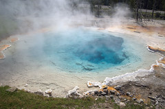 Yellowstone National Park (Digisnapper (George)) Tags: nationalpark yellowstone geothermal geysers