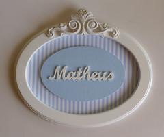 Porta de Maternidade do Matheus (Decoração Quarto de Bebê - BETSY) Tags: portadematernidade quadromaternidade quadroinfantil portamaternidademenino quadrocomnome quadrodematernidademenino