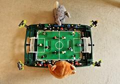 Finale: Spanien vs Italien = 4 : 0 (Froschknig Photos) Tags: italien fussball lego teddy euro wiese ukraine 40 grn finale em elefant kiev kyiv spanien 2012 rasen endspiel spieler michau spielfeld canonefs1022 mnnlein canoneos60d froschknigphotos