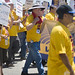 Workers March Against Wal Mart
