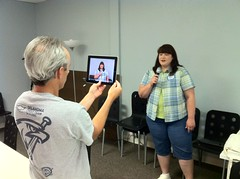 iPad Quick Edit Videography at iPad Media Camp (Wesley Fryer) Tags: camp video teacher workshop record videography ipad