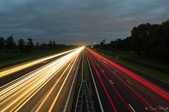 Lines of Sight (ToonS VisioN) Tags: auto camera sunset car evening gear location equipment kit avond overijssel schemering snelweg twillight locatie verkeer lichtmis plaats plek lenzen onderwerp uitrusting tijdstip canoneos60d canonefs1585mmf3556isusm pointoftime timeaday