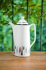 Rorstrand Tango tea pot (h4ndz) Tags: china coffee vintage design 60s ceramics tea retro collection pot kettle teapot 50s atomic porcelain scandinavian midcenturymodern scandinaviandesign