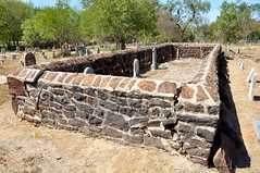 Bonita Creek 1856 (Stu_Jo) Tags: county cemetery stone wall sandstone texas tx historic pleasanton 1856 atascosa atascosacounty bonitacreek