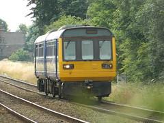 Northern Class 142011 @ Burscough (The37Basher) Tags: manchester northwest railway 2nd lane heath northern generation southport newton burscough pacer dmu sutch 142011