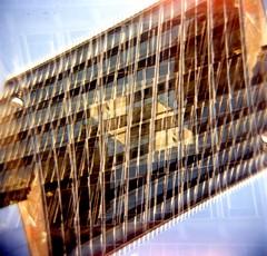 [La Mia Citt] Via Santa Sofia (Urca) Tags: 120 mediumformat square holga lomo italia doubleexposure milano 2012 doppiaesposizione analogico viasantasofia