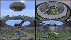 Minecraft UPDATE! (Exius_) Tags: house water fly flying mine lift lego elevator creative craft mein corporation block corp mode survival kraft hover exo minecraft exius