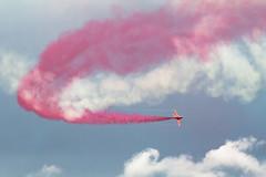 Red Arrows @ Museum of Flight 2012 (Cazoopz) Tags: uk scotland display hawk jet olympics redarrowsrafair