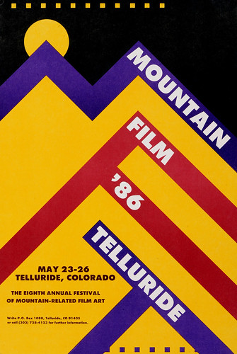 1986 Mountainfilm in Telluride Festival Poster