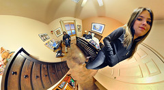 Me, Myself and I (BongoInc) Tags: distortion fisheye clone distort flexify lilacalilcampos