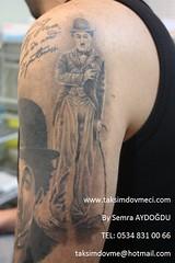 Charlie Chaplin portret tattoo part 2 / portre dovme (taksim beyolu dvmeci) Tags: woman art tattoo artist femme models drawings istanbul tattoos taksim examples vrouwen tatouage bayan mannen kiz modle modelleri dovme izimler dovmeciler taksimdovme dovmemodelleri dovmesi