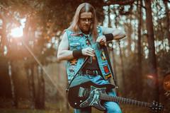 IMG_4929 (rodinaat) Tags: longhair longhairman longhairedman longhaired beard bearded metal metalhead powermetal trashmetal guitar musican guitarplayer brutal forest summer sun