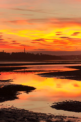 Forth sunset (Rodger Shearer) Tags: sunset evening colours forth crammond