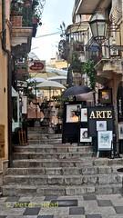 Taormina - close to entrance to Cafe Timoleone (Sussexshark) Tags: 2016 may holiday vacanza sicily sicilia taormina