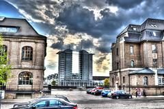 Mediaspree Berlin (Bjrn O) Tags: hdr highdynamicrange wole wolken clouds cloud sky himmel stimmung gewitter unwetter mediespree berlin