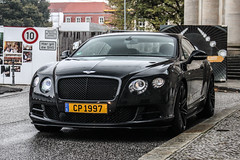 Luxembourg - Bentley Continental GT Speed 2015 (PrincepsLS) Tags: luxembourg license plate germany berlin spotting bentley continental gt speed 2015