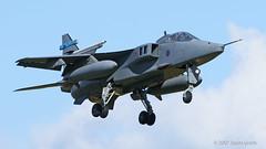 XX112 EA Jaguar GR3A (Sonic Images) Tags: raf lossiemouth 6 squadron jaguar cold war jet xx112 ea gr3a