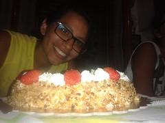 Auguri Cuginetta (mettlog) Tags: compleanno kamari festa party happy birthday auguri strawberries panna fragole torta cake cream candele candle dolce sweet dessert