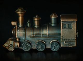 Die-cast Miniature Train Engine
