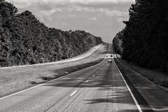 It is not down in any map, true places never are (Black Room Photography) Tags: traveling travel openroad roadtrip usa wanderlust beautiful blackandwhite bnw nikkond3300 50mm14 scenery scenic sky clouds alabama south