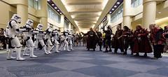 DSC_7624 (slamto) Tags: cosplay starwars 501st stormtrooper klingon fanexpo
