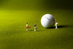 Can't Miss! (abnormally average) Tags: macromondays macromonday golf olympics miniature hofigures etc