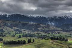 Winter farmlands (Raikyn) Tags: nz newzealand hawkesbay rural winter mountains farm