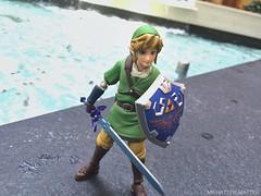 Link's journey. (Mr.Hatter_Matter) Tags: toysphotography figma skywardsword legendofzelda link