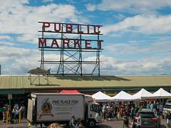 Pike Place Market, Seattle, WA (John Wood Photography) Tags: seattle pikeplacemarket publicmarket market lumixg7 panasonic johnwoodphotography travel usa