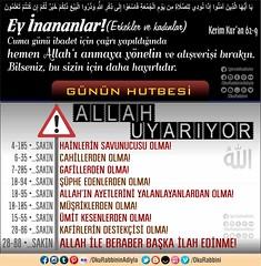 Hayrl Cuma'lar... (Oku Rabbinin Adiyla) Tags: allah kuran islam ayet verse god religion bible terror feto terr cihad ayetler ayetullah rahman
