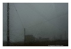 Closed in (frattonparker) Tags: nikond600 tamron28300mm raw lightroom6 dungeness frattonparker btonner wet rain haar powerstation telegraphpoles electricitypoles wires pylons