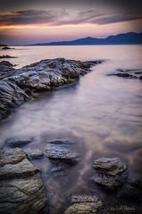 Limnionas Cove (f.stratios1986) Tags: ifttt 500px hdr rocks water sea sunset sky beach sun blue summer seascape beautiful long exposure clouds nd10 nd8 oropos limnionas kalamos attica agioi apostoloi