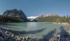 Lake Louise (christopherboersma) Tags: 50mp nikon d750 20mm 18g lake louise banff wide morning