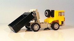 How to Build the Hook Lift Garbage Truck (MOC) (hajdekr) Tags: moc myowncreation creation design hookliftgarbagetruck truck container transport garbage hooklift toy vehicle automobile small easy simple basic hook lift rolloffcontainer trucks wheels wastecontainer dumpster update updated buildingblocks howto instructions manual tuto tutorial buildingguide guide tip help assemblyinstructions buildinginstructions lego