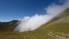 Engulfed... (George Pancescu) Tags: nikon d810 1635mm timelapse landscape fagaras massif mountain cloud clouds sky natural nature outdoor