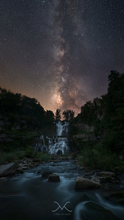 Chittenango Falls Under The Milky Way