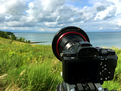 WonderPana for Zeiss Distagon 15mm f/2.8 (FotodioxPro) Tags: zeiss15mm zeissdistagon15mmf28 ultrawideanglelens sonya7rii fullframe iphone6s landscapephotography bluff lakemichigan beautyshot cameraporn filtersystem landscape wildflowers filterforzeiss15mm zeiss15mmfilter nd1000 fotodiox fotodioxpro wonderpana freearc wonderpanafreearc wideanglelens wideanglelensfilter uwa ultrawideangle clouds water hill lake photogear photofilter gearshot highwood illinois