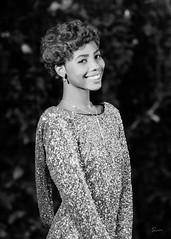Kiera (02_0062BW) (ronnie.savoie) Tags: africanamerican black noir negra woman mujer chica muchacha girl pretty guapa lovely hermosa browneyes ojosnegros brownskin pielcanela portrait retrato model modelo modle smile sonrisa gonzales louisiana diaspora africandiaspora