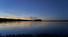 Kankarisvesi (A.Hakonen) Tags: landscape outdoor sunset water lake finland night lakescape jms