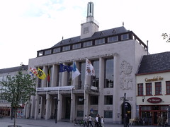 Town Hall, Turnhout, Belgium (Norbert Bnhidi) Tags: belgium turnhout belgien blgica belgique belgio belgi  flanders flandern flandes flandre fiandre vlaanderen  flandria