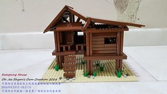 Kampung House 1 Front View (Oh Jee Shyan) Tags: building village kampung malays malaysia lego