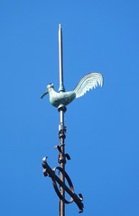 PLOEVEN, patrie de Alain Pere (Chti-breton) Tags: cuivre girouette paratonnerre
