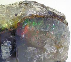 Precious opal (Delanta District, South Wello, Ethiopia) 3 (James St. John) Tags: precious opal mineral minerals silicate silicates tertiary delanta ethiopia wello wollo welo amhara