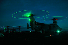Ospreys with 31st Marine Expeditionary Unit conduct missions from USS Bonhomme Richard during Valiant Shield 16 (#PACOM) Tags: guam usmarines marines usnavy usairforce iiimef iiimarineexpeditionaryforce vs16 jointexercise uspacificcommand pacom