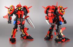 Lego Rhadamantis 02 (guitar hero78) Tags: lego moc srw super robot wars mecha mech toys