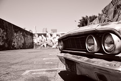 Dead end (Hi ro ki) Tags: nikon california d810 usa 2016 los angels down town sigma 35mm art graffity