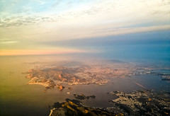 Rio de Janeiro (noelboss) Tags: morning sun rio brasil riodejaneiro de janeiro flight